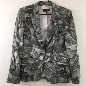 Escada Black & White Floral Jacket